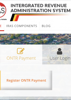 The Integrated Local Revenue Administration System (IRAS)
